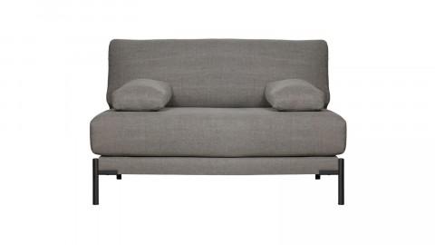 Petit canapé en coton et lin gris - Collection Sleeve - Vtwonen