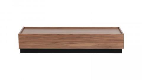 Table basse 135x60 en noyer - Collection Block - Vtwonen