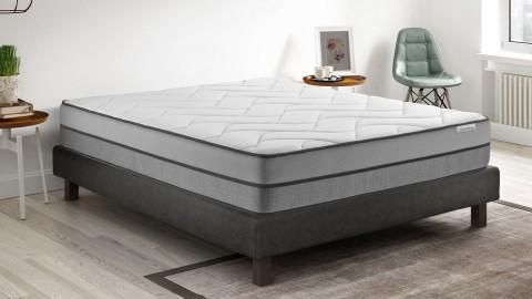 Ensemble matelas mémoire de forme + sommier 180x200 Zenith Hbedding - 7 zones de confort - épaisseur matelas 30cm