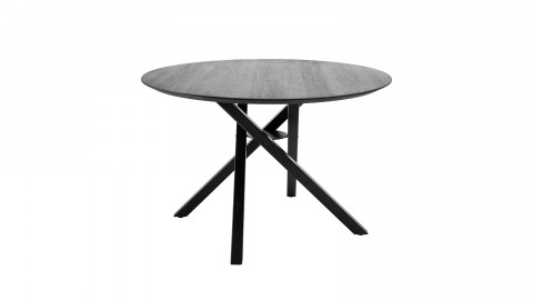 Table à manger ronde en chêne noir - Collection Connor - Bloomingville