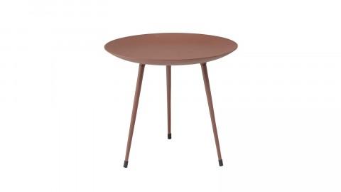 Table basse ronde en métal marron - Collection Bjorg - Bloomingville