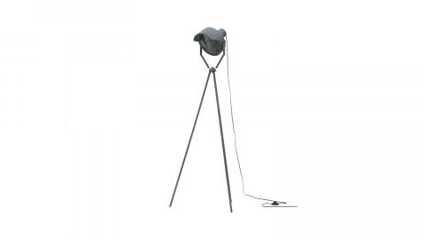 Lampadaire en métal gris béton - Collection Lester - Woood