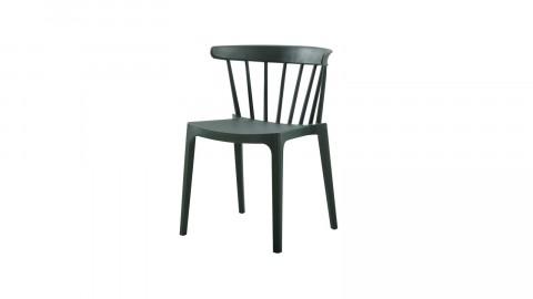 Chaise en plastique vert - Collection Bliss - Woood