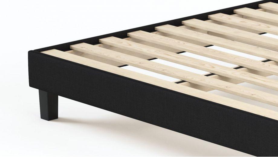 Ensemble matelas mémoire + sommier 90x190 Visco Fresh Hbedding - Mousse haute densité et coutil déhoussable.