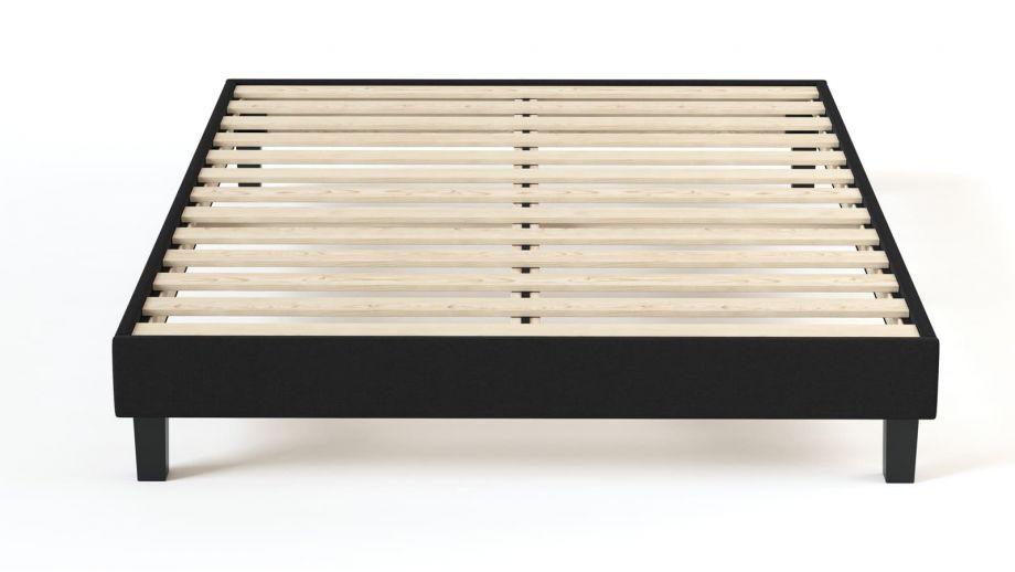 Ensemble matelas ressorts + sommier 140x190 Spring Confort Hbedding - Mousse ergonomique et ressorts ensachés.