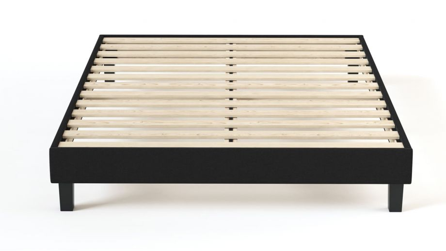 Ensemble matelas mousse haute densité + sommier 160x200 Confort Zen Hbedding - Coutil microfibre déhoussable.
