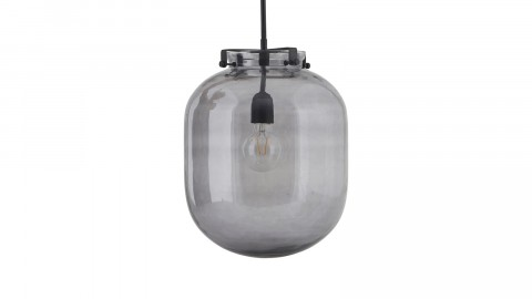Suspension en verre gris - Collection Ball - House Doctor