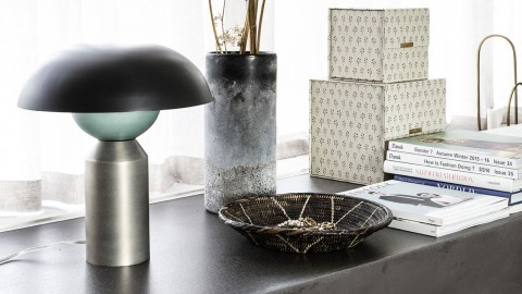 Lampe de table en laiton et métal - Collection Little felow - House Doctor