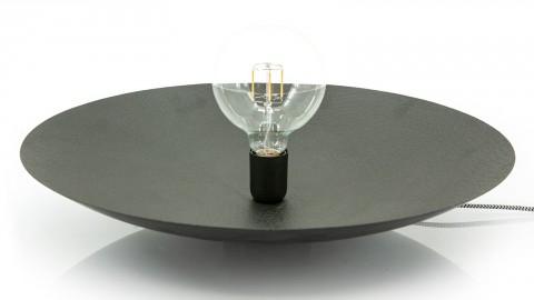 Applique / Lampe à poser en métal noir -Taille L - Collection Horus
