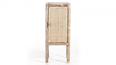 Petit meuble de rangement en rotin - Collection Metz