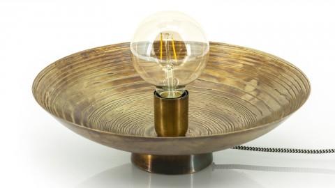 Applique / Lampe à poser en métal bronze - Taille S - Collection Horus