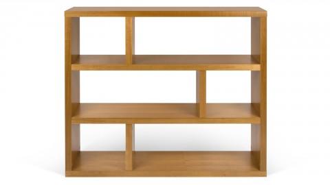 Etagère basse 3 niveaux en bois - Collection Berlin - Temahome