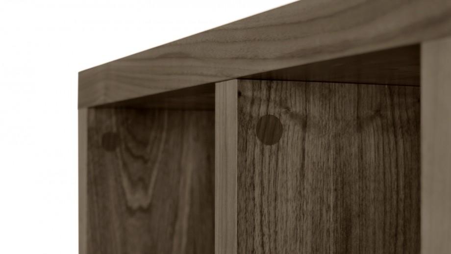 Etagère 4 niveaux 70cm noisette - Collection Berlin - Temahome