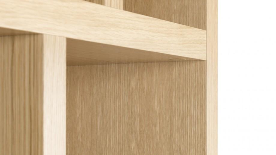 Etagère 5 niveaux 70cm en contreplaqué naturel - Collection Berlin - Temahome