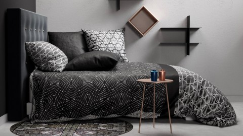 Parure de draps 240x300cm 100% coton 57 fils/m² + 2 taies 65x65cm