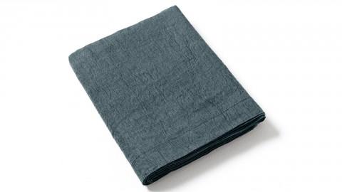 Drap plat 240x300 cm 100% percale de coton lavé 80 fils/cm²