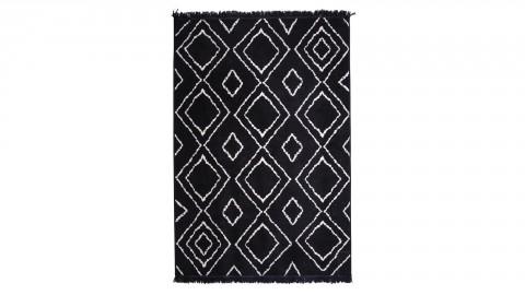 Tapis noir 160x230cm - Collection Groove