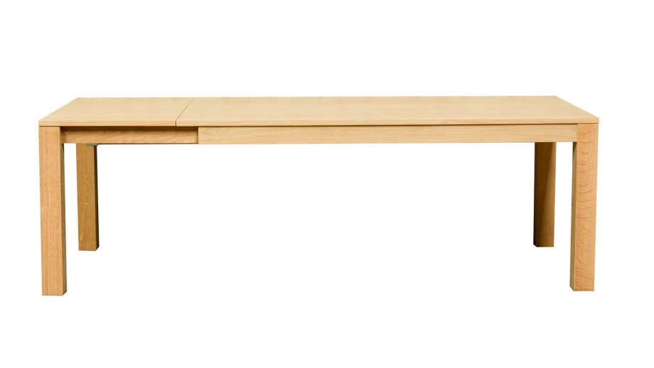 Höganäs Table extensible 180/235cm en chêne massif