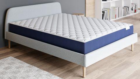Matelas mousse mémoire de forme 140x190 Visco Fresh Hbedding - 7 Zones de confort ergonomiques - Norme OEKO-TEX - Garantie 5 ANS