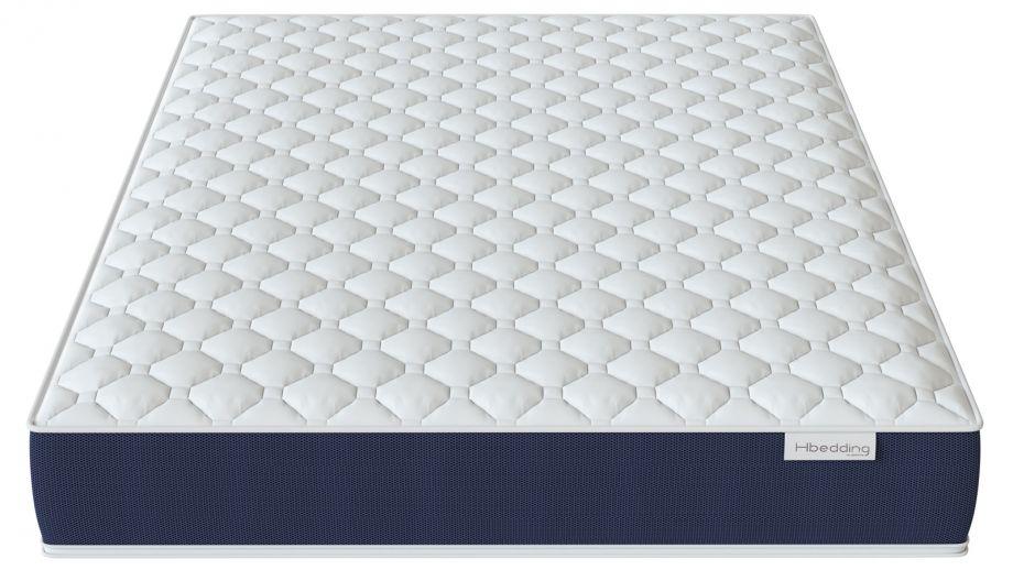 Matelas mousse mémoire de forme 140x190 Visco Fresh Hbedding - Mousse haute densité et coutil déhoussable.