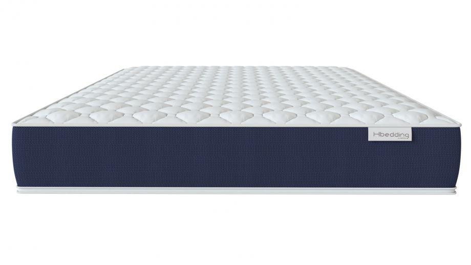 Matelas mousse mémoire de forme 90x190 Visco Fresh Hbedding - Mousse haute densité et coutil déhoussable.