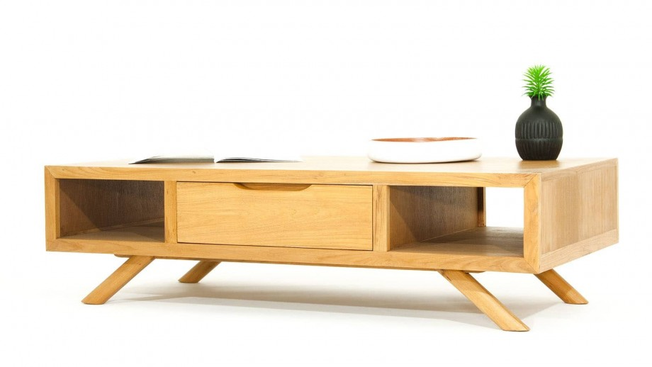 Arboga Table basse en teck 120cm