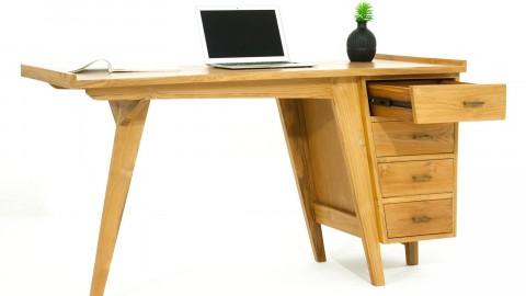 Arboga Bureau en teck 4 tiroirs