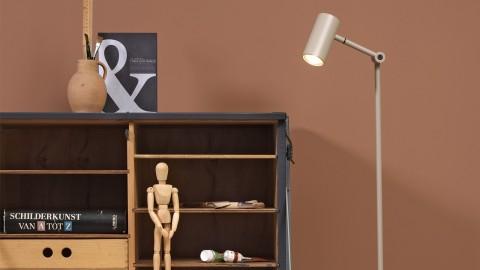 Lampadaire LED en métal sable - Collection Montreux - It's About Romi