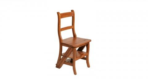 Chaise de libraire en teck - Collection Api