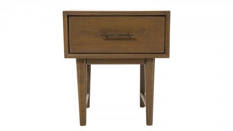 Chevet 1 tiroir en mindi - Collection Lara