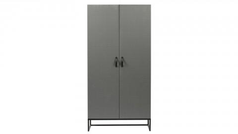 Armoire 2 portes en pin argile - Collection Morris - Woood