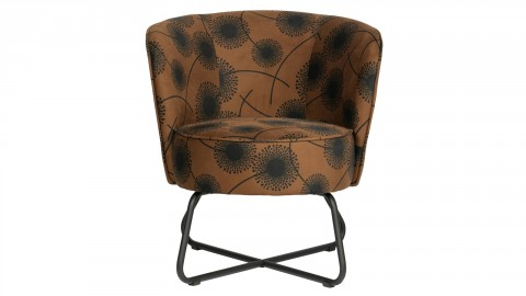 Fauteuil en velours miel - Collection Bloom - Woood