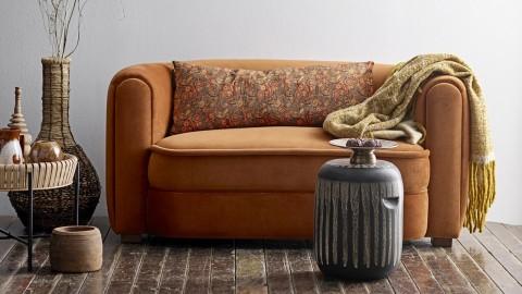 Sofa 2 places en velours orange - Collection Malala - Bloomingville