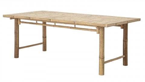Table à manger rectangulaire 6 personnes en bambou - Bloomingville