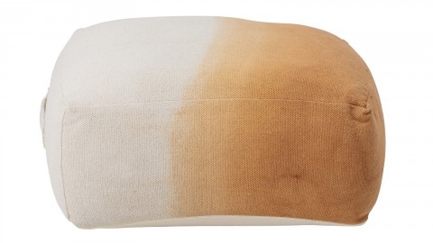 Pouf carré multicolore en coton - Collection Cara - Bloomingville
