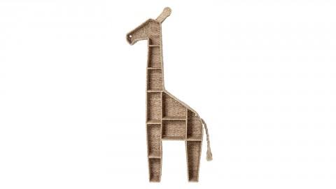 Bibliothèque forme girafe en herbes de bankuan - Bloomingville