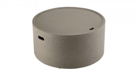 Table basse de jardin ronde 80cm en béton - Collection Victor