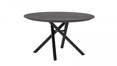 Table basse en chêne noir piètement croisé - Collection Connor - Bloomingville