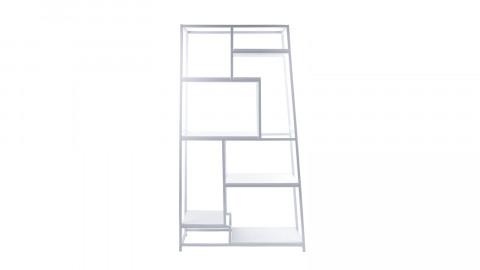 Bibliothèque en métal blanc - Collection Fushion - Leitmotiv