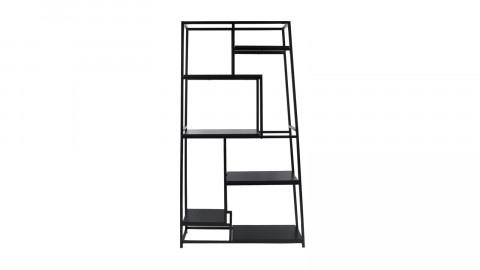 Bibliothèque en métal noir - Collection Fushion - Leitmotiv