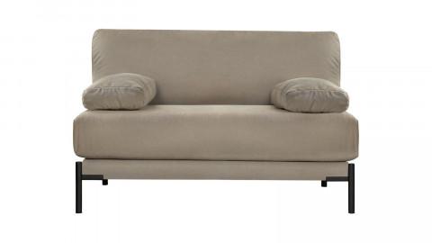 Banquette en tissu gris avec 2 coussins - Collection Sleeve - Vtwonen