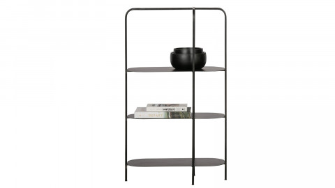 Etagère en métal noir - Collection Reina - Woood