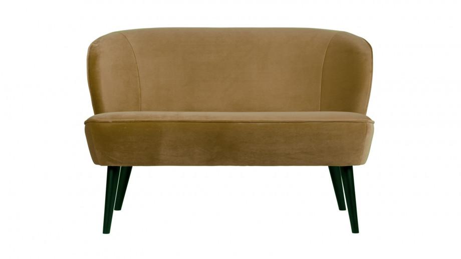 Petit canapé en velours army - Collection Sara - Woood