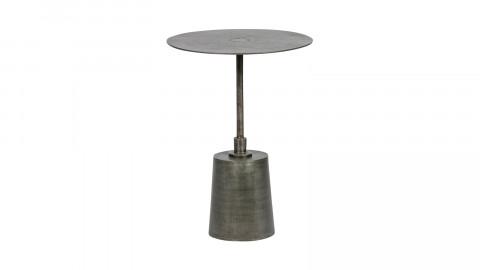 Lot de 2 tables d'appoint en métal antique - Collection Crush - BePureHome