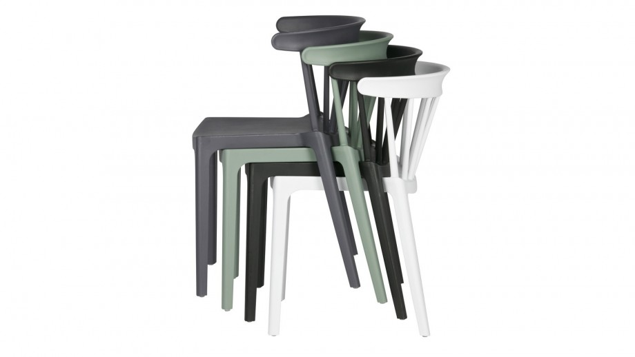 Lot de 2 chaises Bliss de bar Vert