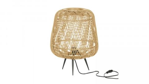 Lampe de table en bambou naturel - Collection Moza - Woood