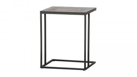 Table d'appoint en U métal et bois - Collection Vic - Woood