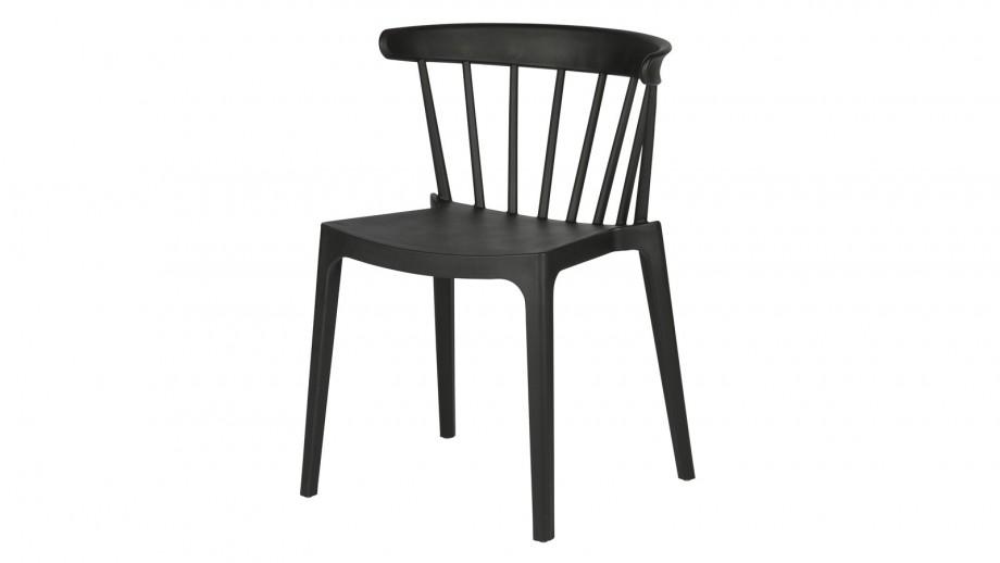 Lot de 2 chaises Bliss de bar noir