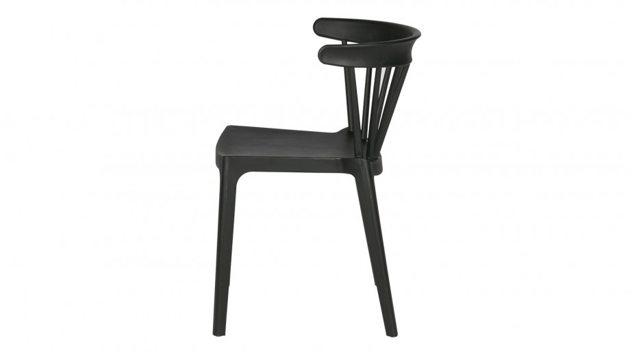 Lot de 2 chaises Bliss de bar noir