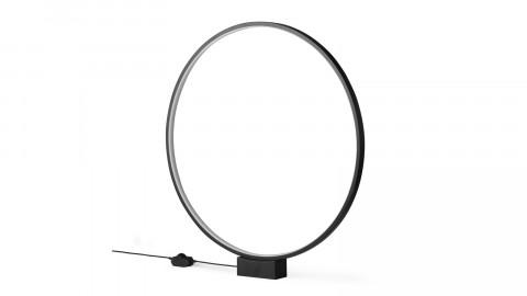 Lampe de table cercle lumineux noir - Hk Living